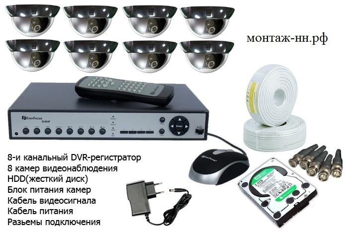купить качественные стоимость монтажа системы видеонаблюдения 16 камер аромат равномерно